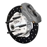 Wilwood 140-4503-BD 1987-1993 Mustang 11 In. Front Forged Dynalite Front Drag Brake Kit