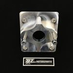 TRZ Motorsports S10-MCA-1 1982-2005 S-10 Manual Master Cylinder Adapter Plate (Angled Firewall)