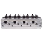 Edelbrock 5025 Small Block Ford 170cc E-STREET Cylinder Heads, 2.02 in. intake Valve, Pair