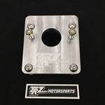 TRZ Motorsports S10-MCA-2 1982-2005 S-10 Manual Master Cylinder Adapter Plate (Flat Firewall)