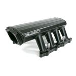 TSP Velocity Ford 5.0L Coyote EFI Fabricated Intake With Fuel Rails, Black Anodized