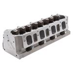 Edelbrock 77139 LT1 Chevy Victor Jr. Cylinder Heads 320cc, 57cc Chambers, Assembed, Each