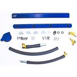 BBK Performance 5010 1986-1993 Mustang High-Flow Billet Aluminum Fuel Rail Kit