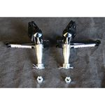 Double AA Performance 1979-2004 Mustang 3.5 in. Drop Spindles for use with 79-93 Strange Brake Kits