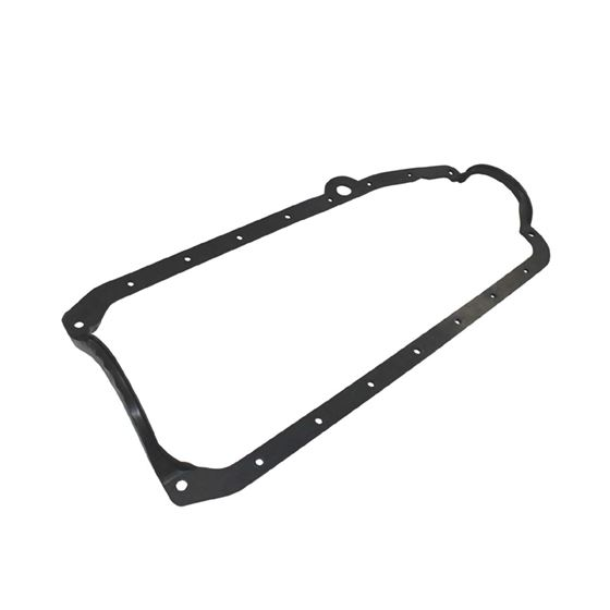 TSP SP6105 1955-1979 Small Block Chevy, 1 Piece Oil Pan Gasket, Driver Side Dipstick