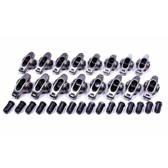 PRW 0230205 Small Block Ford Stainless Steel Rocker Arms 1.6 Ratio