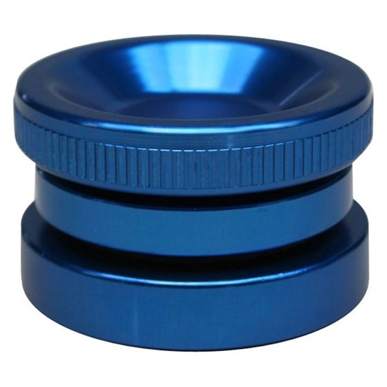 4120450 Billet Oil Filler Cap, Blue, Screw-in 1.3750 in. hole, W/ O-Ring