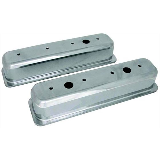 Big End Performance 70033 3 11/16 in. Tall Polished Valve Covers