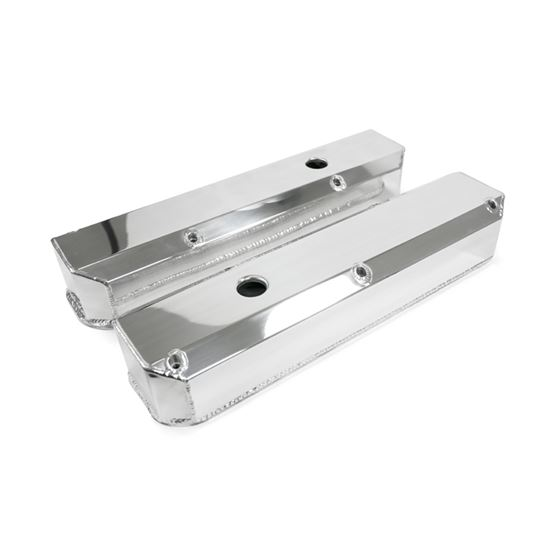 JM8096-7P Chrysler Small Block Fabricated Aluminum Valve Covers Polished