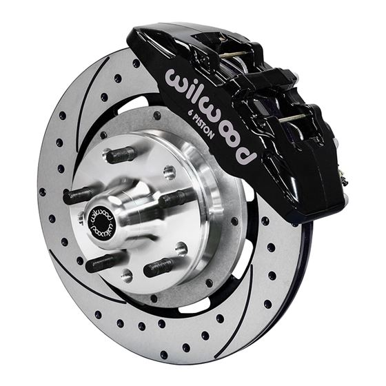 140-12947-D Dynapro 6 Big Brake Series, Black 12.1