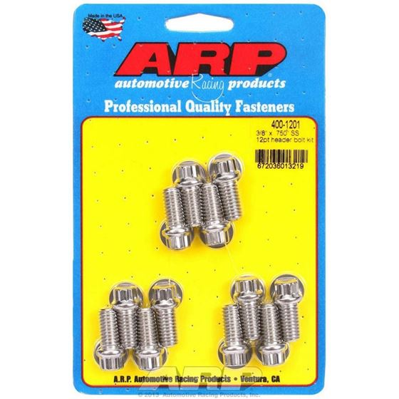 ARP 400-1201 6 Point Header Bolts