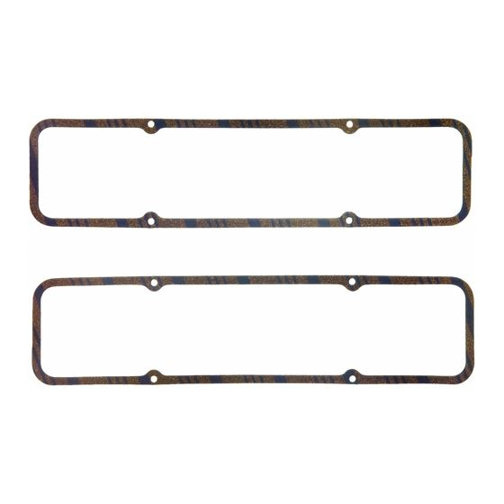 Fel-Pro 1604 Small Block Chevy, Valve Cover Gaskets, .313 in. Thick, CorkLam, Cork/Rubber, Pair