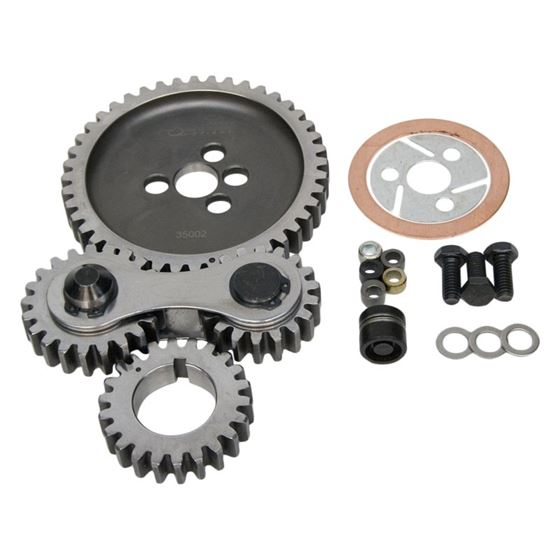 PRW 0135002 Small Block Chevy Dual Gear Drive (Except Factory Roller Cam),  Quiet1955 - 1995 Small Block Chevy 262, 265, 267, 283, 302, 305, 307, 327,
