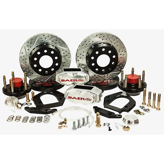 Baer Brake Systems 4301452C Brake System 11 Inch Front SS4+ Deep Stage Drag Race Clear 70-81 GM F/X
