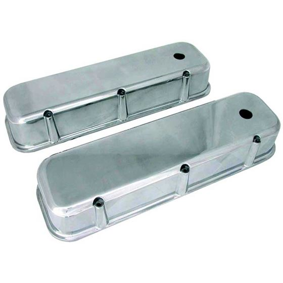 70041  3 11/16 in. Tall Polished Valve Covers, Big