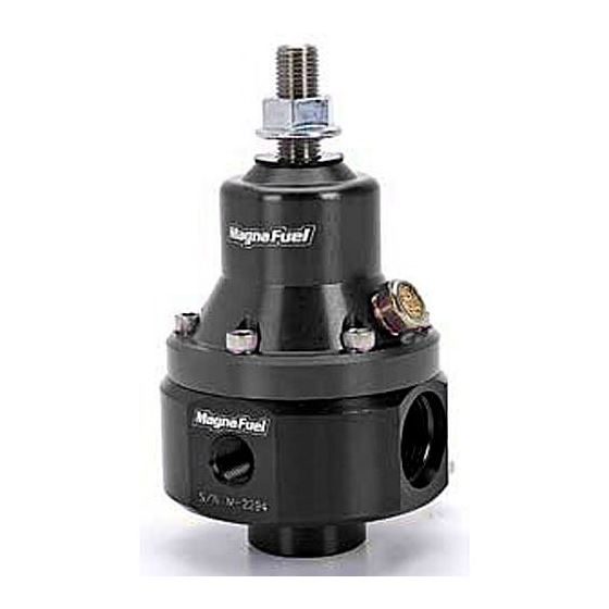 MP-9950-BLK ProStar Fuel Pressure Regulator, 35-85 PSI, Black Anodized