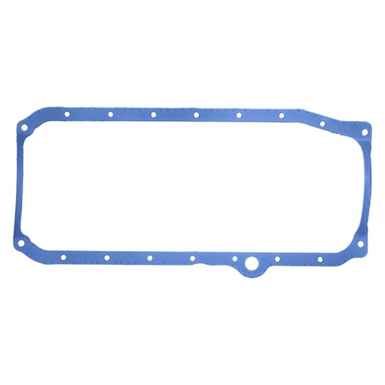 Fel-Pro 1886 1986-1997 Small Block Chevy Oil Pan Gasket, Righ Hand Dipstick, 1 Piece