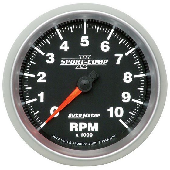 3697 3-3/8 in. In-Dash Tachometer