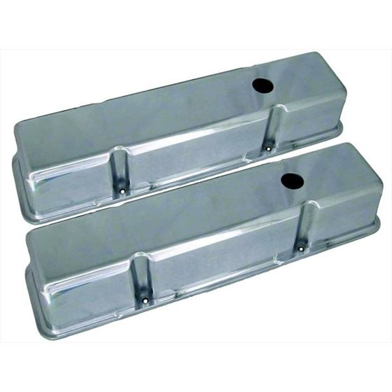Big End Performance 70034 3 11/16 in. Tall Polished Valve Covers