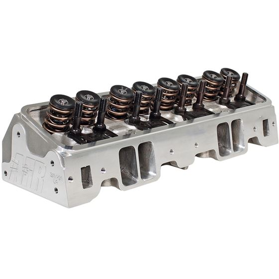 AFR 1066 SB Chevy 220CC/80CC Aluminum Head, 2.1/1.6 in. Valves, 75cc Comb. Each