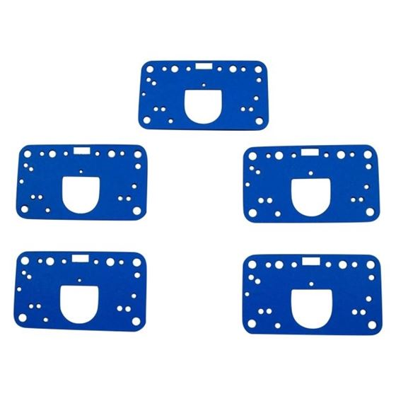 AED Performance 5846 Metering Block Gaskets, Composite, Holley 4500, 5 Pack