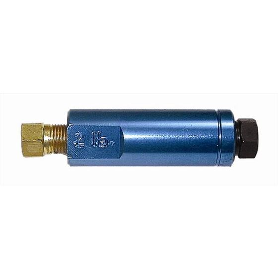 Big End Performance 20010 Residual Valve 2 Lbs. Blue