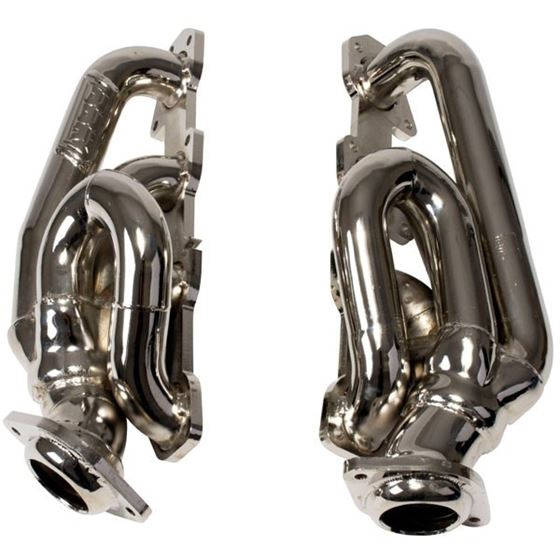 4014 1-3/4 in. Shorty Headers, Chrome-3