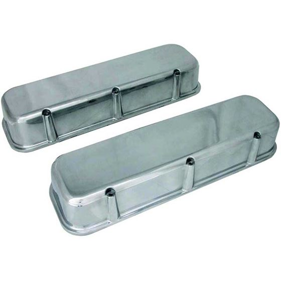 Big End Performance 70035  3 11/16 in. Tall Polished Valve Covers