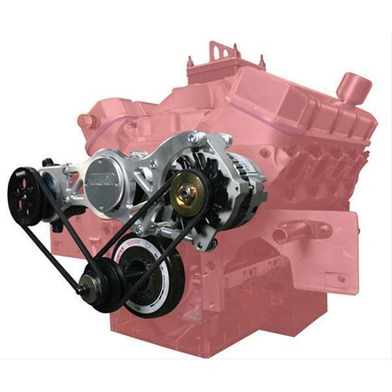 Moroso 63866 Big Block Chevy W/CSR Water Pump, Alt