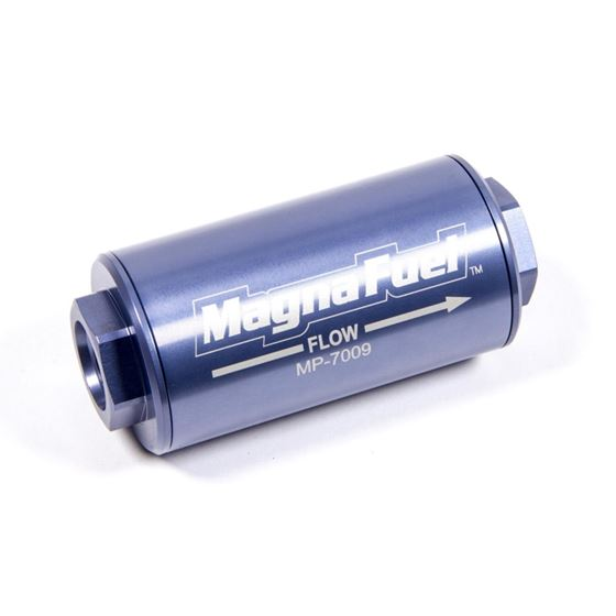 MagnaFuel MP-7009 74 Micron, -10AN In-Line Filter, Stainless Element, Each