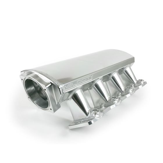 TSP 81001CA LS1/LS2/LS6 Fabricated Intake Manifold, Aluminum, Cathedral Port, Clear Anodized