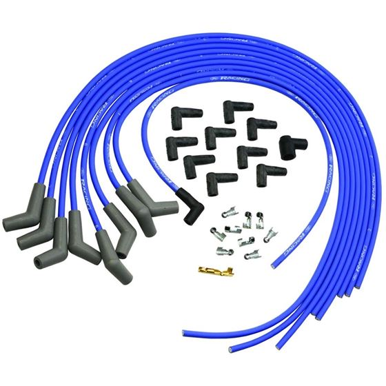 Ford Racing M-12259-C302 Universal, 9mm Blue Ignition Wires with 45 on