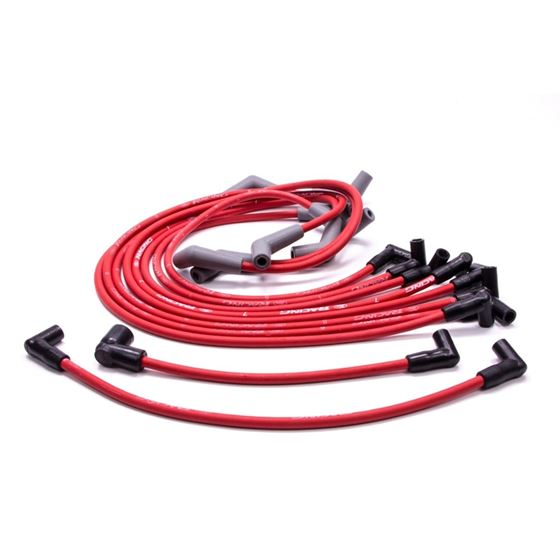Ford Racing M-12259-R460 Big Block Ford, 9mm Red Ignition Wires with on