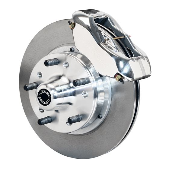 Wilwood 140-11017-P 1974-1978 Mustang II Forged Dynalite Pro Series Front Brake Kit, Polished 11 in.